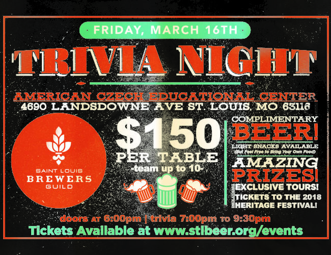 STLbeer Trivia Night