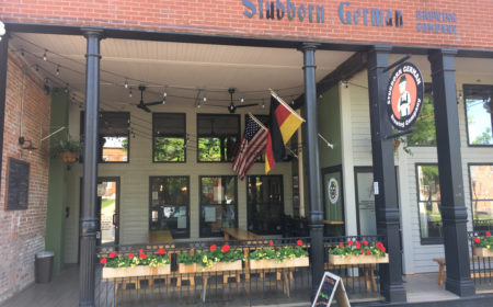 "Get your ""German"" on this summer on the patio at Stubborn German Brewing"