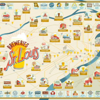 Breweries of Greater St. Louis Poster
