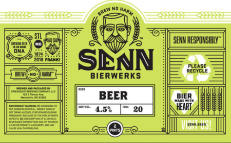 St. Louis' Upcoming Senn Bierwerks to Release First Beer This Weekend